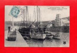 66 - Port Vendres  : Le Quai De La Santé, Cpa écrite En 1907 - Port Vendres