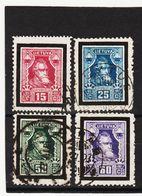 AUA714 LITAUEN 1927 Michl 274/77 Gebraucht / Gestempelt  ZÄHNUNG Und STEMPEL SIEHE ABBILDUNG - Litauen