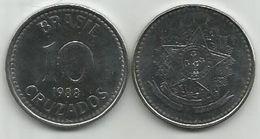 G7 Brazil 10 Cruzados 1988. UNC - Brésil