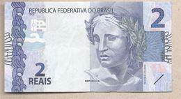 Brasile - Banconota Circolata Da 2 Reais P-252a - 2013 - Brésil
