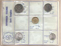Italia - Serie Annuale In Confezione FDC 5 Monete - 1971 - 1946-… : Repubblica