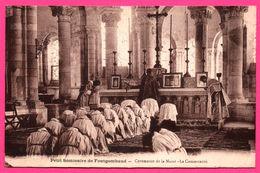 Petit Séminaire De Fontgombaud - Fontgombault - Cérémonie De La Messe - La Communion - Animée - H. BASUYAU - Le Blanc