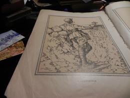 GRAVURES SUR PAPIER/ L'INFANTERIE NOUVELLE DESSINS DU LIEUTENANT JEAN DROIT - Prints & Engravings