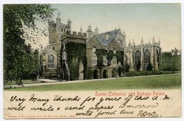 EXETER CATHEDRAL AND BISHOPS PALACE (STENGEL) - Exeter