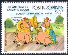 766 Roumanie Disney Trombone Tuba Clairon Trombon (ROU-69) - Musique