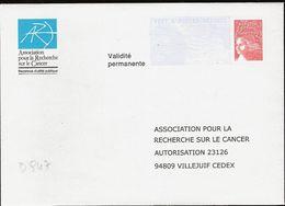 D947 - Entier / Stationery / PSE - PAP Réponse ARC - Agrément 0312701 - Entiers Postaux