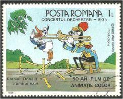 766 Roumanie Disney Trombone Posaune Trombon Music Musique (ROU-280) - Musique