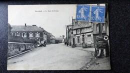 CPA 35 Ile Et Vilaine Village De GEVEZE Le Haut Bourg Ecrite Circulée 1934 - Other Municipalities