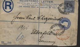 GRANDE BRETAGNE  Lettre Recommandée  PAP  1897 - 1840-1901 (Victoria)
