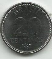 Brazil 20 Centavos 1987. High Grade - Brésil