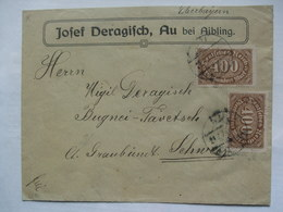 GERMANY 1923 Inflation Cover - To Sedrun Switzerland - Deutschland