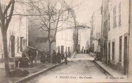 84Cc    83 Signes Rue Grande - Signes