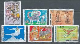 Tunisie YT N°875/880 Art Et Traditions Calligraphie Neuf ** - Tunisia