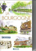 ATLAS-MICHELIN  LA BOURGOGNE - Géographie