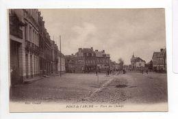 - CPA PONT-DE-L'ARCHE (27) - Place Des Champs - Edition Claude - - Pont-de-l'Arche