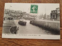 """Granville - Le Bateau à Vapeur """"Mont Saint Michel"""" Sortant Des Bassins - Granville"""