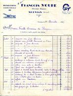 34.SERVIAN.REPARATION AGRICOLES.FRANÇOIS MOURE MARECHAL FORGERON. - Petits Métiers