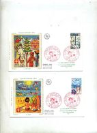 Lettre Fdc 1974 Mulhouse Croix Rouge - FDC