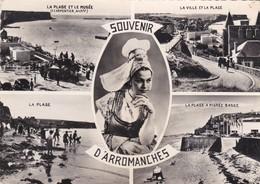 CARTE MULTIVUES SOUVENIR ARROMANCHES     ACHAT IMMEDIAT - Arromanches