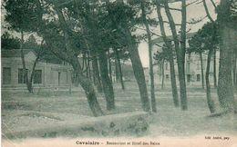 84Cc   83 Cavalaire Restaurant Hotel Des Bains - Cavalaire-sur-Mer