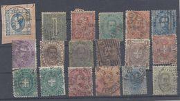 Italien Michel 15 - 73 Mix Set Stamps Of Italie Italy Italia Italië Small Selection Of Fine Used 1471 - 1861-78 Vittorio Emanuele II