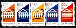 AFRIQUE DU SUD. N°918-22 De 1996. Nouvelle Constitution. - Afrique Du Sud (1961-...)