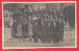 223911 / Real Photo - GROUP MEN WOMEN   , Bulgaria Bulgarie Bulgarien Bulgarije - Personnes Anonymes
