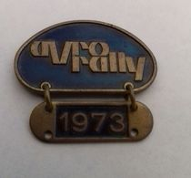 Pin - AVRO Rally 1973 - Badges