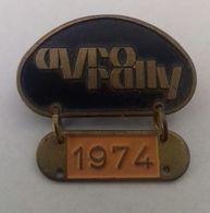 Pin - AVRO Rally 1974 - Badges