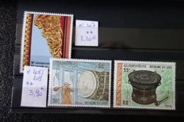 LAOS Série Neuve  MNH 207/+208/209** - Laos