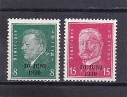 Deutsches Reich, Nr. 444/45** (T 4914) - Deutschland