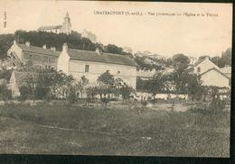 CHATEAUFORT - Vue Pittoresque Sur L'Eglise Et La Trinité - France
