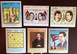 Cuba 1988 Capablanca Chess MNH - Cuba