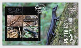 Tokelau 2017 -  Reptiles Of Tokelau FDC - Tokelau