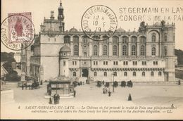 Le Château Où Fut Présenté Le Traité De Paix Aux Plénipotentiaires Autrichiens - St. Germain En Laye (castle)