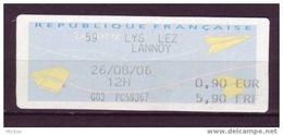 France, 59 Lys Lez Lannoy - 2000 «Avions En Papier»