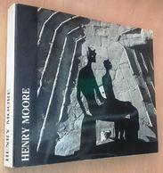 1972 ARTE SCULTURA FIRENZE MOORE AUTOGRAFO CARANDENTE GIOVANNI (a Cura Di) HENRY MOORE Mostra Di Henry Moore Organizzata - Books, Magazines, Comics