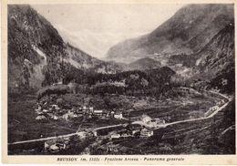 Valle D'Aosta -BRUSSON M.1332 - Frazione Arcesa - Panorama Generale - - Italia