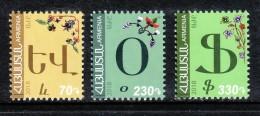 Armenien / Armenie / Armenia 2018, 11th Definitive Issue. Armenian Alphabet  - MNH ** - Armenië
