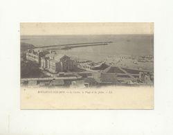 62/ CPA 1900 - Boulogne Sur Mer - Le Casino, La Plage Et Les Jetées - Boulogne Sur Mer