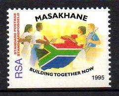 """AFRIQUE DU SUD. N°890a De 1992. Campagne """"Masakhane"""". - Afrique Du Sud (1961-...)"""