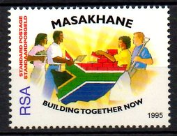 """AFRIQUE DU SUD. N°890 De 1992. Campagne """"Masakhane"""". - Afrique Du Sud (1961-...)"""