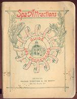 Spa Attraction - Guide Des Promenades - 1921. - Belgique