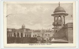 BENGASI CON LE SUE CUPOLE E MINARETI 1933 VIAGGIATA FP - Libya