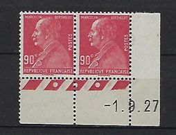 "FR YT 243 Paire "" Marcelin Berthelot "" Neuf** BDF Datée - France"