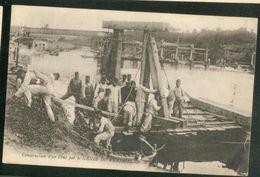 Construction D'un Pont Par Le GENIE DE VERSAILLES - Versailles