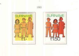 Suriname PO. 1981 Gioventù   Scott.572 A B  See Scans On KA BE Page - Surinam