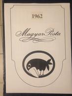 Hongrie - Magyar Posta - 1962 - Année Complète Avec Blocs Feuillet - Hongarije