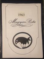 Hongrie - Magyar Posta - 1963 - Année Complète Avec Blocs Feuillet - Hongarije