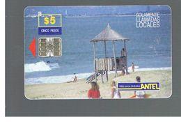 URUGUAY -   1998 BEACH                               - USED  -  RIF. 10458 - Uruguay